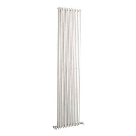 Hudson Reed Refresh Double Panel Vertical Designer Radiator 1500 x 350mm - White - HLW26