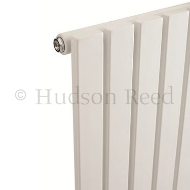 Hudson Reed Sloane Single Panel Designer Radiator 1500 x 354mm - White - HLW41 profile large image view 3