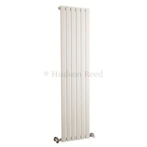 Hudson Reed Sloane Single Panel Designer Radiator 1500 x 354mm - White - HLW41 Large Image