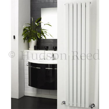 Hudson Reed Sloane Double Panel Designer Radiator 1500 x 354mm - White - HLW43 Feature Large Image