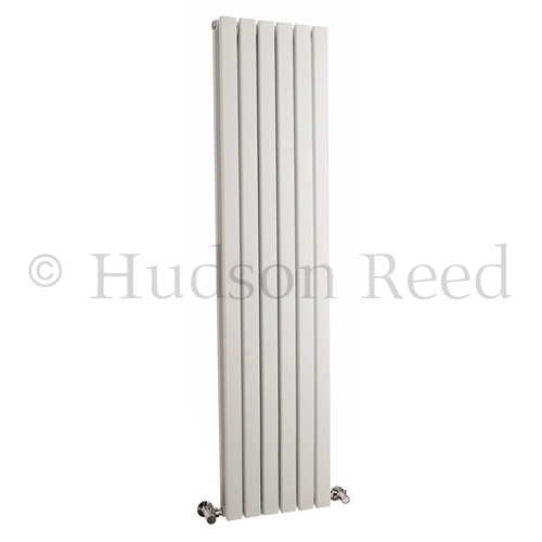 Hudson Reed Sloane Double Panel Designer Radiator 1500 x 354mm - White - HLW43 Large Image