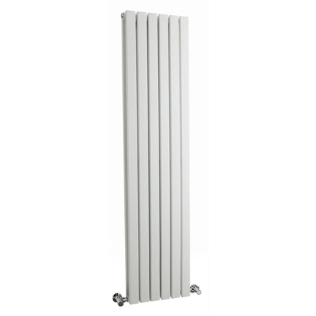 Hudson Reed Sloane Double Panel Designer Radiator 1500 x 354mm - White - HLW43