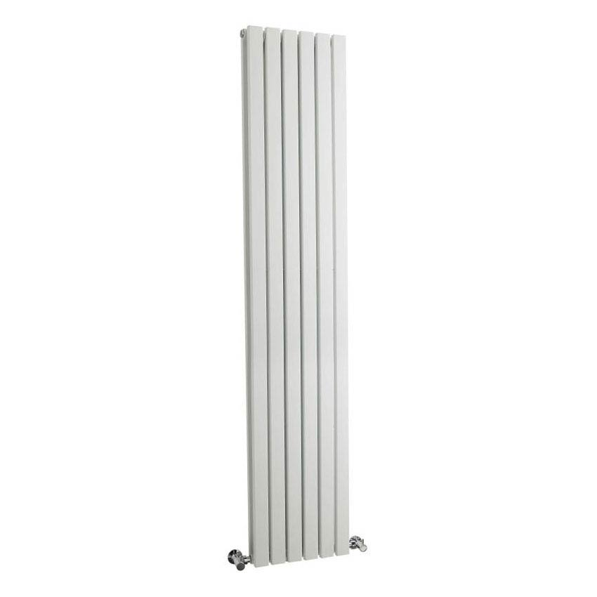 Hudson Reed Sloane Double Panel Designer Radiator 1800 x 354mm - White - HLW44 Large Image
