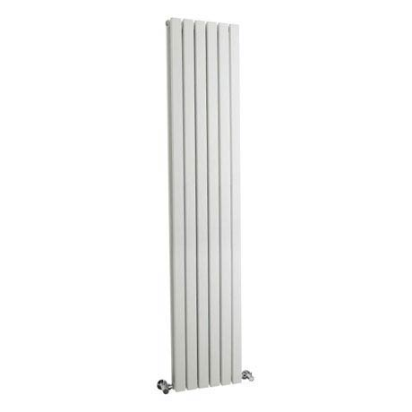 Hudson Reed Sloane Double Panel Designer Radiator 1800 x 354mm - White - HLW44