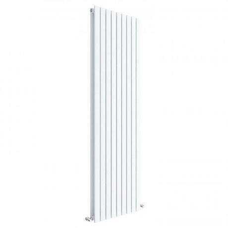 Hudson Reed Sloane 1800 x 528mm Vertical Double Panel Radiator - Satin White - HLW47D