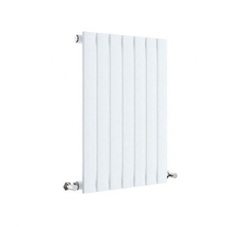 Hudson Reed Sloane 600 x 412mm Horizontal Single Panel Radiator - Satin White - HLW54