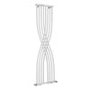 Hudson Reed Xcite 1775 x 450mm Designer Radiator - Gloss White - HLW94 profile small image view 1