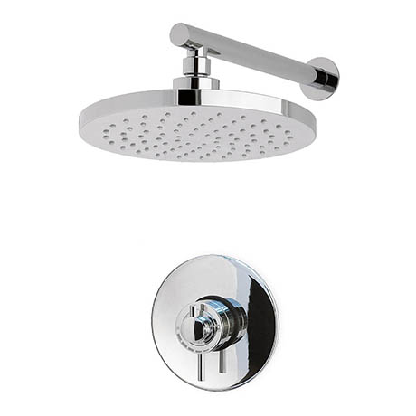 MX Atmos Zone Thermostatic Concentric Mixer Valve with Fixed Head - HLZ