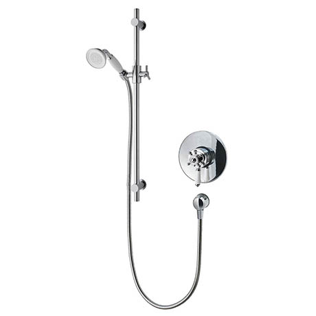 MX Atmos Traditional Concealed/Exposed Thermostatic Concentric Mixer Valve with Riser Kit - HME