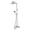 MX Atmos Azure Thermostatic Bar Mixer Valve with Overhead - HMN profile small image view 1