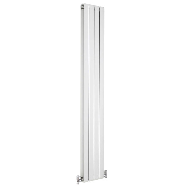 Premier - Myrtle White Designer Radiator - 1800 x 255mm - HMY003 profile large image view 1
