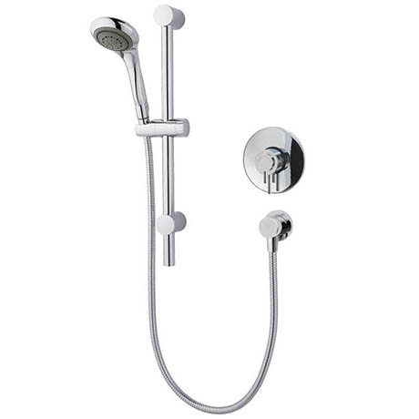 MX Options Petite Concealed/Exposed Thermostatic Concentric Mixer Valve with Riser Kit - HNI