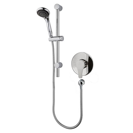 MX Options Sequential Concealed/Exposed Thermostatic Single Lever Mixer Valve with Riser Kit - HNV