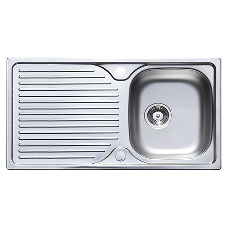 Astracast 965 x 500 Horizon Stainless Steel 1.0 Bowl Kitchen Sink (with Waste)