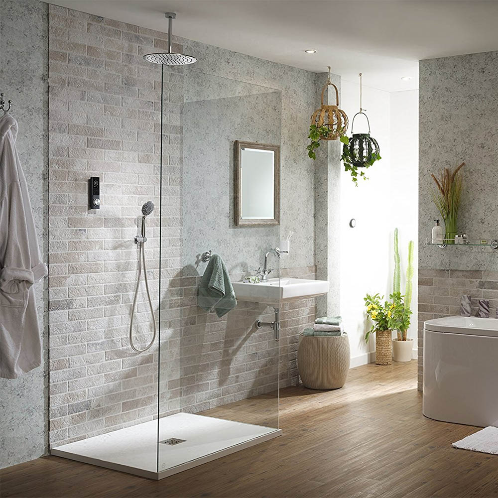 Do you like the idea of smart gadgets in the bathroom? If so then why not choose a digital shower for your next bathroom renovation.