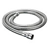Bristan 1.5m Cone to Nut 8mm Bore Shower Hose Chrome profile small image view 1