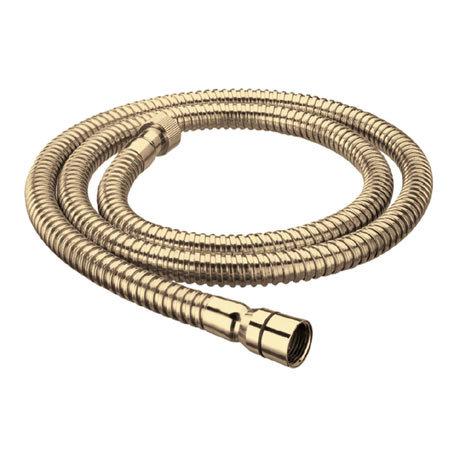 Bristan 1.5m Cone to Nut Shower Hose - Gold
