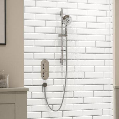 Bristan Hourglass Shower Pack with Adjustable Riser Kit