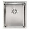 Reginox Houston 34x40 1.0 Bowl Stainless Steel Kitchen Sink profile small image view 1