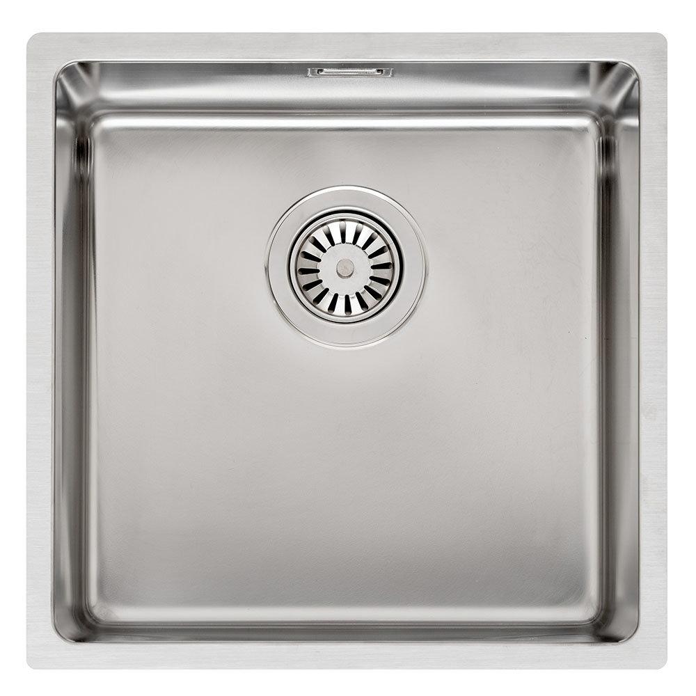 Reginox Houston 40x40 1.0 Bowl Stainless Steel Kitchen Sink