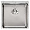 Reginox Houston 40x40 1.0 Bowl Stainless Steel Kitchen Sink profile small image view 1