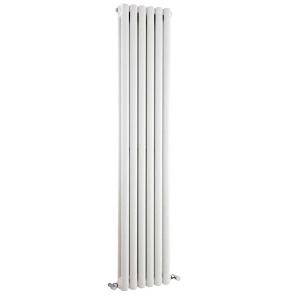 Premier - Peony Double Panel Radiator - 1800 x 383mm - White - HPE001 profile large image view 1