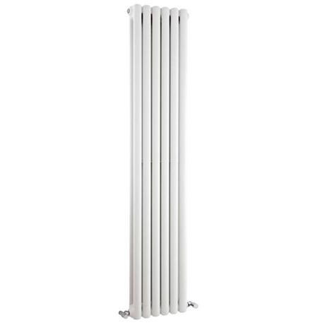 Premier - Peony Double Panel Radiator - 1800 x 383mm - White - HPE001