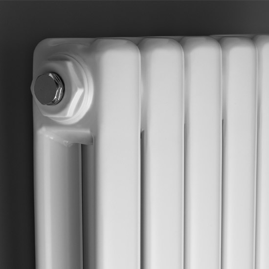 Premier - Peony Double Panel Radiator - 1500 x 383mm - Anthracite - HPE006 Profile Large Image