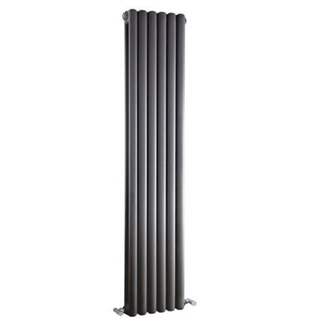 Premier - Peony Double Panel Radiator - 1500 x 383mm - Anthracite - HPE006