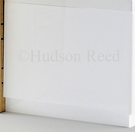 Hudson Reed High Gloss White End Bath Panel - Various Size Options profile large image view 2