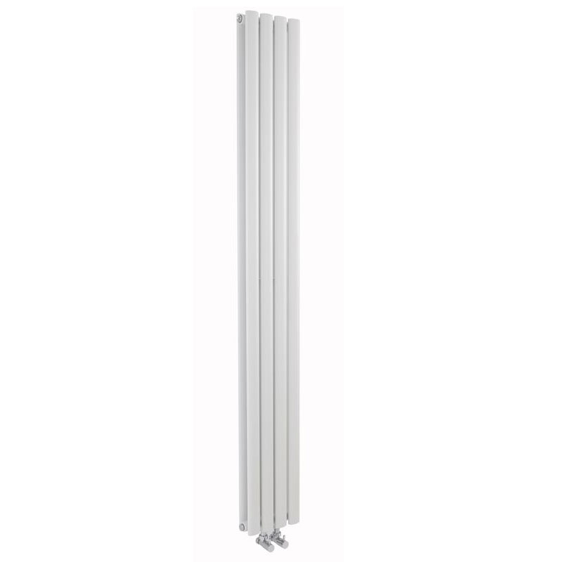 Hudson Reed - Revive White Designer Radiator - W236 x H1800mm - HRE007