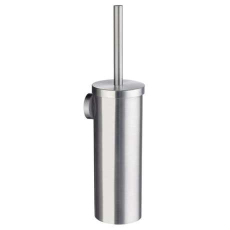 Smedbo Home Wall Mounted Toilet Brush - Brushed Chrome - HS332
