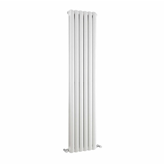 Premier - Salvia Double Panel Radiator - 1500 x 383mm - White - HSA002 Large Image