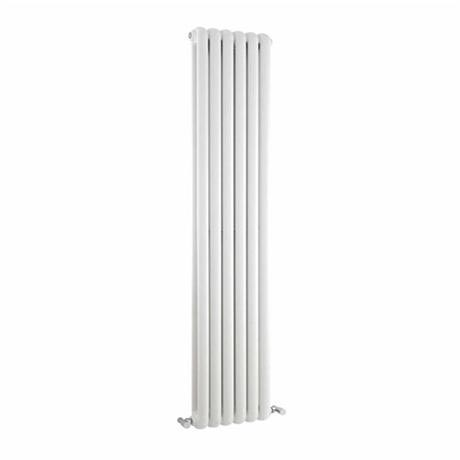 Premier - Salvia Double Panel Radiator - 1500 x 383mm - White - HSA002
