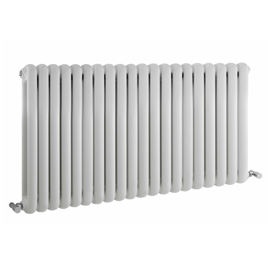 Premier - Salvia Double Panel Radiator - 635 x 1223mm - White - HSA003 Large Image