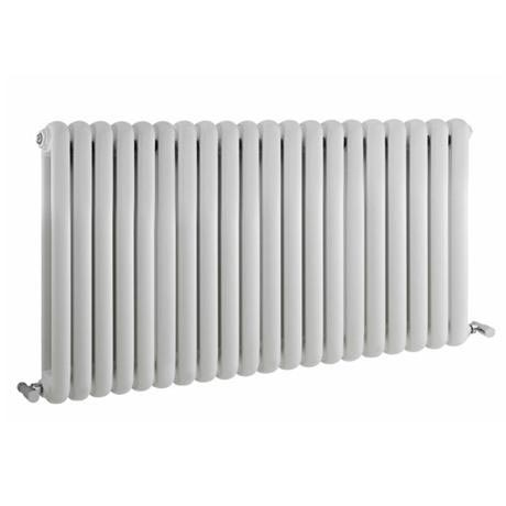 Premier - Salvia Double Panel Radiator - 635 x 1223mm - White - HSA003