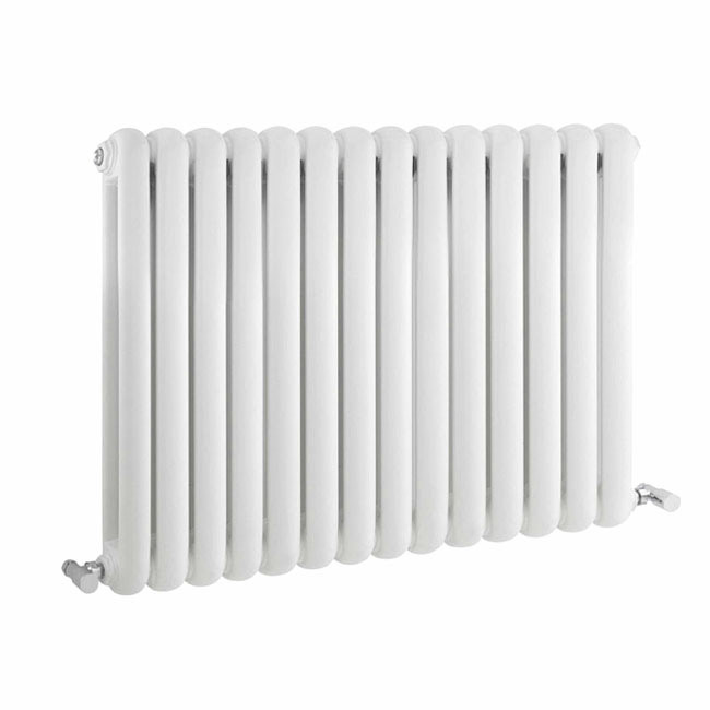 Nuie - Salvia Double Panel Radiator - 635 x 863mm - White - HSA004