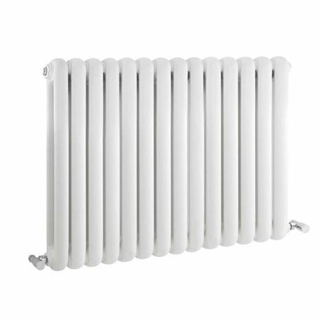 Premier - Salvia Double Panel Radiator - 635 x 863mm - White - HSA004