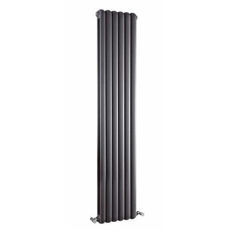 Premier - Salvia Double Panel Radiator - 1800 x 383mm - Anthracite - HSA005