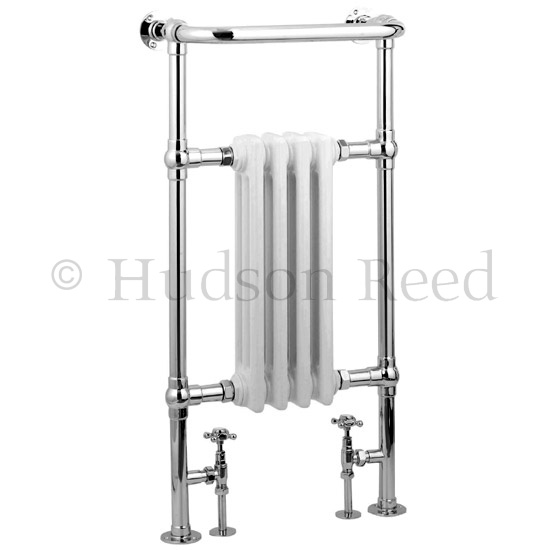 Hudson Reed Traditional Earl Heated Towel Rail - Chrome - HT306 Large Image