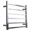 Warmup Hawthorn H600 x W650mm Dry Electric Heated Towel Rail - HTR-6SQPO profile small image view 1