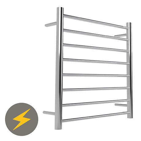Warmup Anise H800 x W530mm Dry Electric Heated Towel Rail - HTR-8ROPO