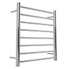 Warmup Anise H800 x W530mm Dry Electric Heated Towel Rail - HTR-8ROPO profile small image view 1