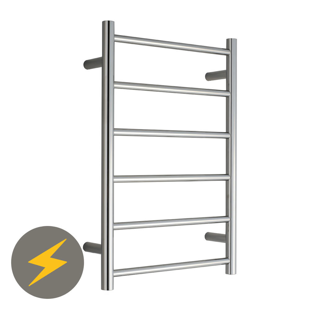 Warmup Electric Heated Towel Rail - 680 x 450mm Large Image
