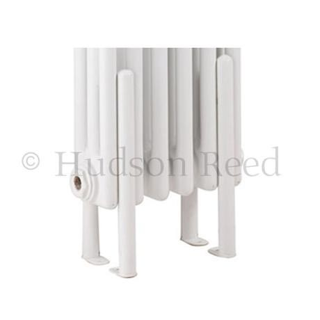 Hudson Reed Floor Mounting Kit for Colosseum Radiators - White - HX300
