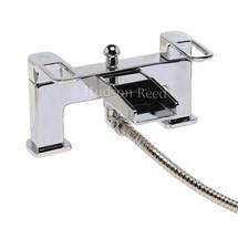 Hudson Reed - Verse Open Spout Bath/Shower Mixer with Kit & Bracket - VER304 Medium Image