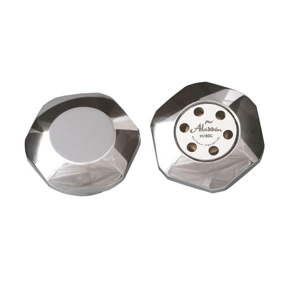 Aladdin Autovent & Blanking Radiator Plug Chrome - HV30C