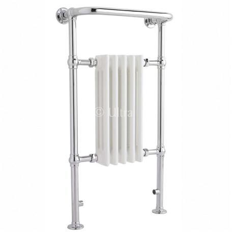 Ultra Traditional Grosvenor Heated Towel Rail - 540 x 965mm - HW326