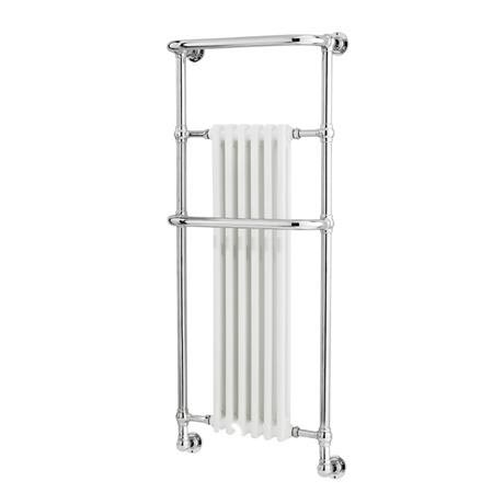 Hudson Reed Brampton Traditional Wall Mounted Heated Towel Rail - 1365 x 575mm - HW337