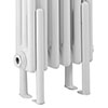 Hudson Reed Floor Mounting Kit for Colosseum Radiators - White - HX300 Small Image